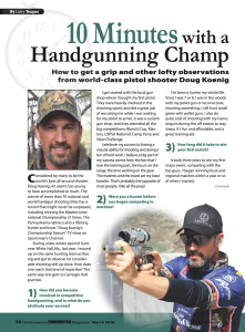 Gun Hunter, April 2016