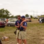 Trevor and Doug Koenig - Sharing a moment
