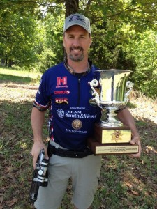 Doug wins the 2014 World Action Pistol Championships