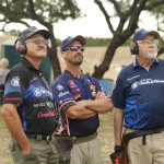 Jerry Miculek, Doug Koenig, J. Michael Plaxco