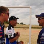 Trevor, Bruce Piatt, and Doug Koenig - On the Range at the 2014 STC