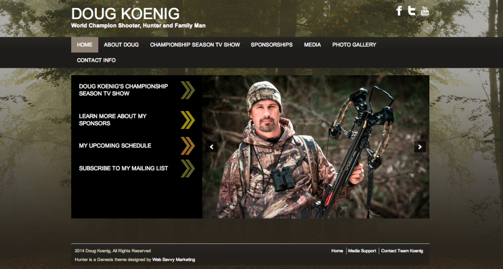 Doug Koenig Official website