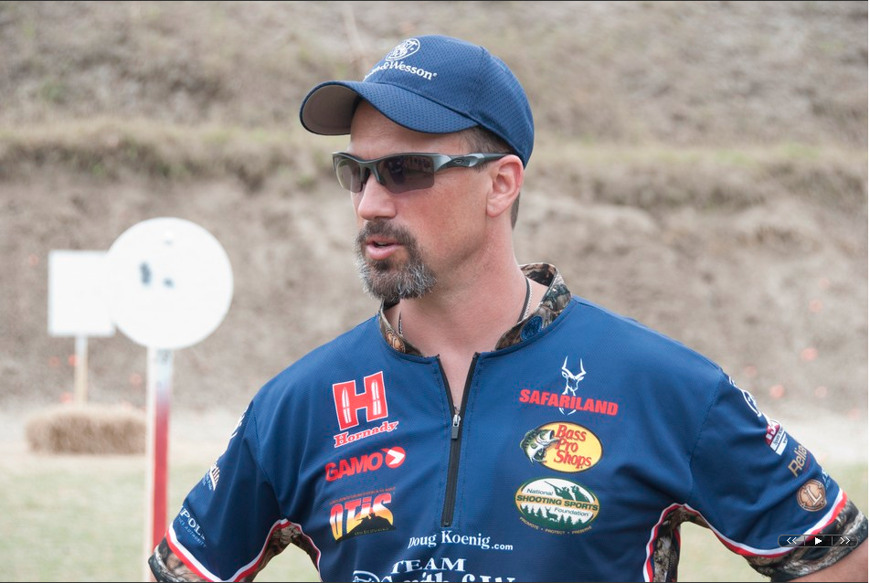 Doug Koenig, competitive shooting - 2014 Smith & Wesson National Steel Championships