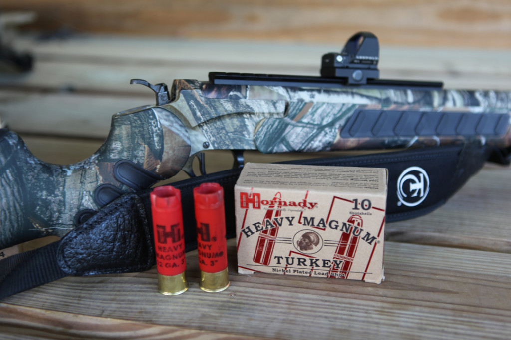 Hornady Heavy Magnum Load; T/C Encore Hunter Pro
