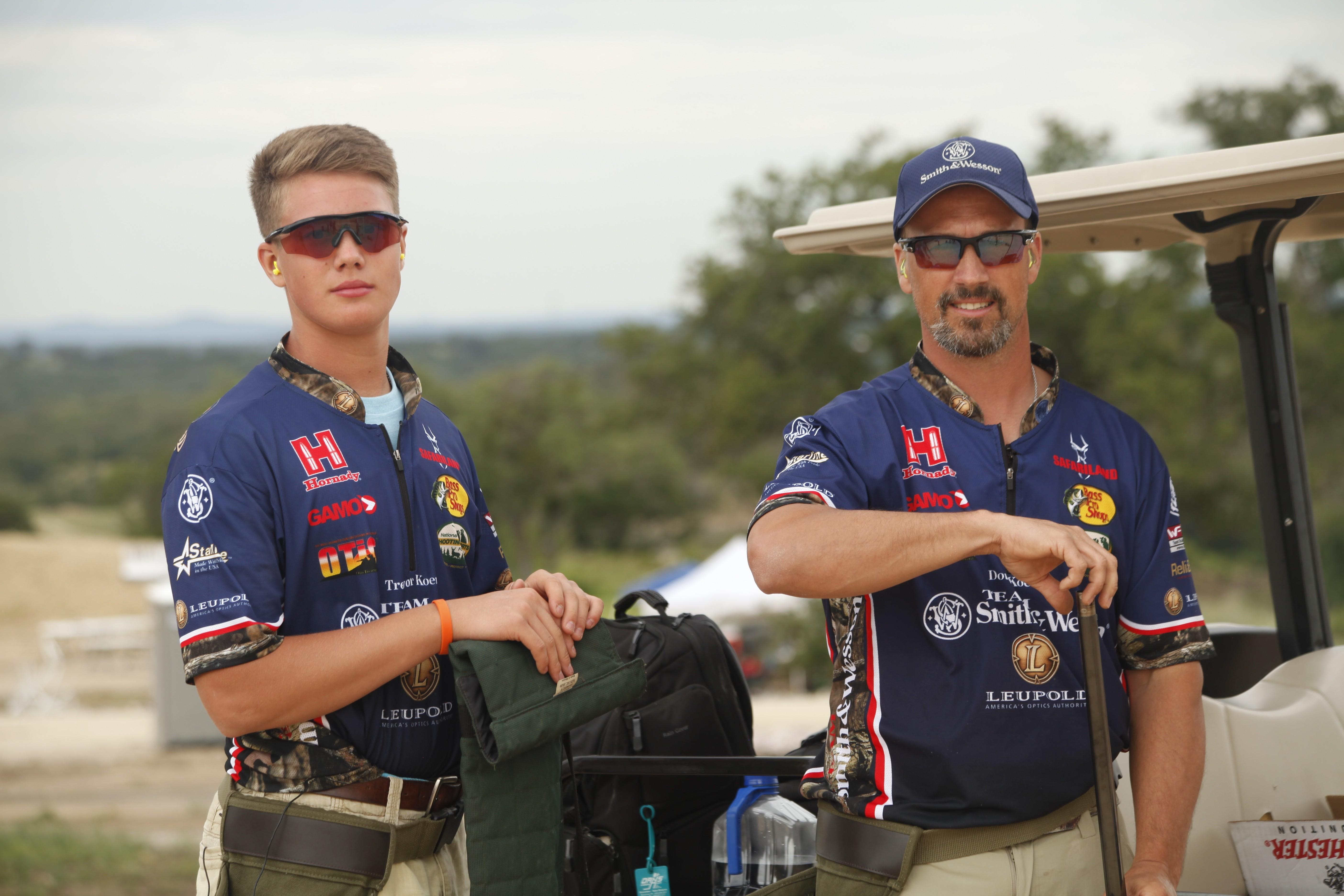 TK DK STC 2014 Golf Cart Pose